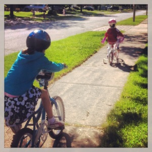 First family bike ride!